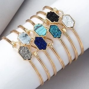 Jewelry - 🆕7 styles 🔥gold bangle sparkle meteor bracelet